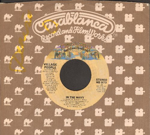 Village People - In The Navy/Manhattan Woman (with Casablanca company sleeve) - EX8/ - 45 rpm Records