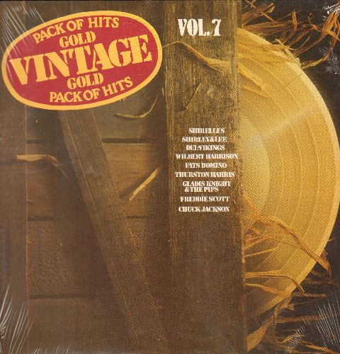 Shirelles, Chuck Jackson, Dionne Warwick, others - Vintage Gold Vol. 7: Soldier Boy, Let The Four Winds Blow, Any Day Now, I'm Your Puppet (Vinyl LP record, re-issue of vintage recordings, SEALED, never opened!) - SEALED/SEALED - LP Records