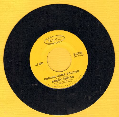Vinton, Bobby - Coming Home Soldier/Don't Let My Mary Go Around (MINT condition) - M10/ - 45 rpm Records