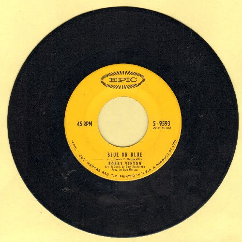 Vinton, Bobby - Blue On Blue/Those Little Things - EX8/ - 45 rpm Records