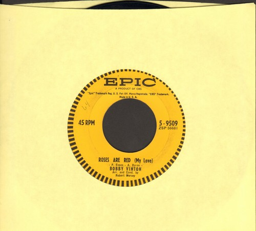 Vinton, Bobby - Roses Are Red/You And I  - EX8/ - 45 rpm Records