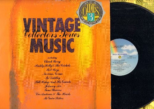 Berry, Chuck, Nervous Norvous, Bo Diddley, McGuire Sisters, Johnny Ace, others - Vintage Music Vol. 3: School Day, Transfusion, Sugartime, Rock Around The Clock, Pledging My Love (vinyl STEREO LP record) - NM9/NM9 - LP Records