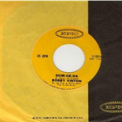 Vinton, Bobby - Dum-De-Da/Blue Clarinet (with Epic company sleeve) - M10/ - 45 rpm Records