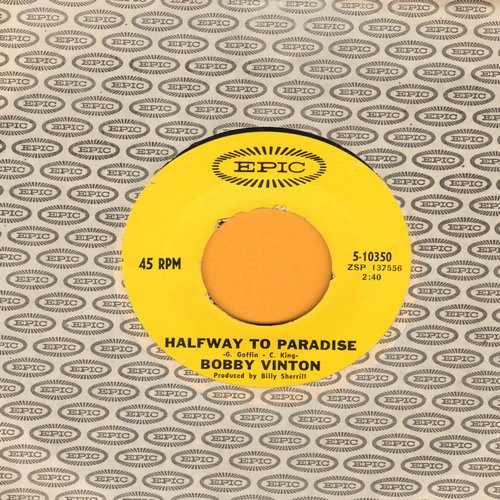 Vinton, Bobby - Halfway To Paradise/Christie - NM9/ - 45 rpm Records