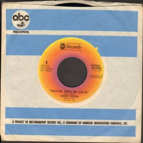 Vinton, Bobby - Hold Me, Thrill Me, Kiss Me/Her Name Is Love (with ABC company sleeve) - NM9/ - 45 rpm Records
