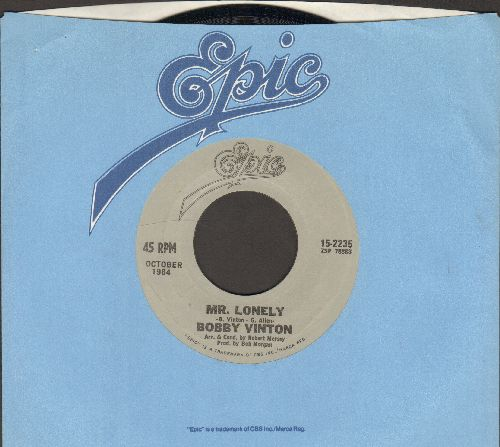 Vinton, Bobby - Mr. Lonely/There! I've Said It Again (double-hit re-issue with Epic company sleeve) - NM9/ - 45 rpm Records