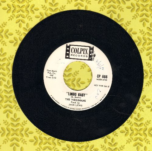 Virginians - Limbo Baby/Greenback Dollars (DJ advance pressing)(minor wol) - NM9/ - 45 rpm Records
