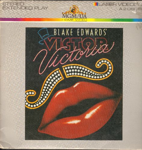 Victor Victoria - Victor Victoria - The Blake Edwards Classic starring Julie Andrews on 2 LASERDISCS. - NM9/VG7 - LaserDiscs