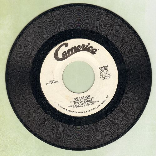 Vitamins - Do The Jog (double-A-sided DJ advance pressing with MONO and STEREO version) - NM9/ - 45 rpm Records