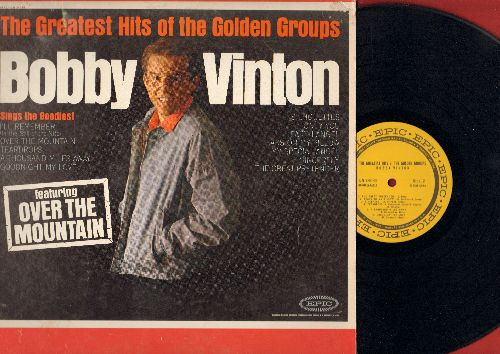 Vinton, Bobby - The Greatest Hits Of The Golden Groups: Goodnight My Love, Silhouettes, Earth Angel, Sincerely, Tears On My Pillow (Vinyl MONO LP record) - NM9/EX8 - LP Records