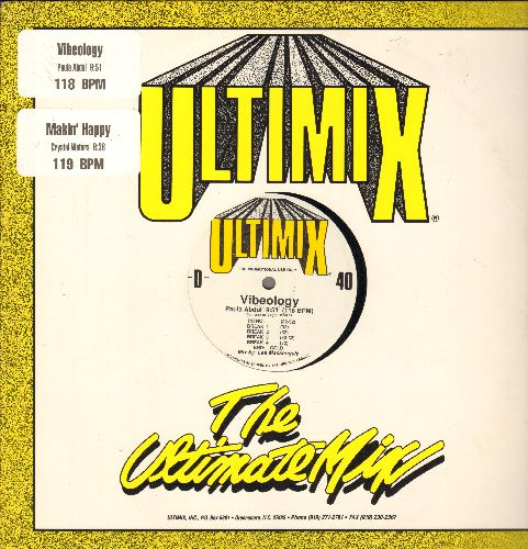Abdul, Paula, Crystal Waters - Ultimix 40 (Vinyl maxi promo) - NM9/ - Maxi Singles