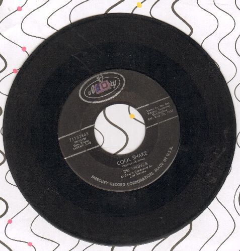 Dell Vikings - Cool Shake/Jitterbug Mary  - VG6/ - 45 rpm Records
