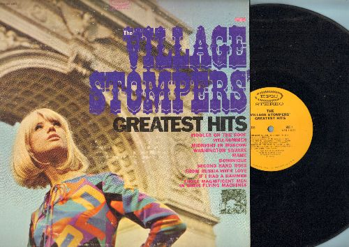 Village Stompers - Greatest Hits: Fiddler On The Roof, Willkommen, Washington Square, Dominique, If I Had A Hammer, Mame, From Russia With Love, Second Hand Rose (Vinyl STEREO LP record) - EX8/EX8 - LP Records