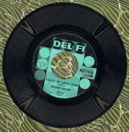Valens, Ritchie - That's My Little Suzie/In A Turkish Town  - VG7/ - 45 rpm Records