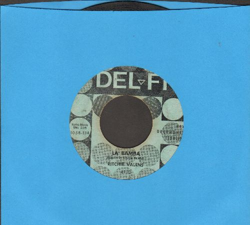 Valens, Ritchie - La Bamba/Donna (light blue) - VG6/ - 45 rpm Records