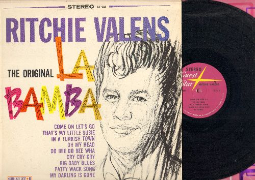 Valens, Ritchie - The Original La Bamba: That's My Little Susie, Come On Let's Go, Oh My Head, Patty Wack Song (Vinyl STEREO LP record) - NM9/EX8 - LP Records