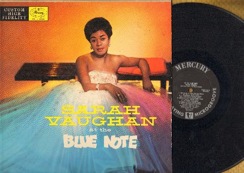 Vaughan, Sarah - At The Blue Note: I'm In The Mood For Love, Make Yourself Comfortable, It's Magic, S'Wonderful, Honey (Vinyl MONO LP record) - VG7/VG7 - LP Records