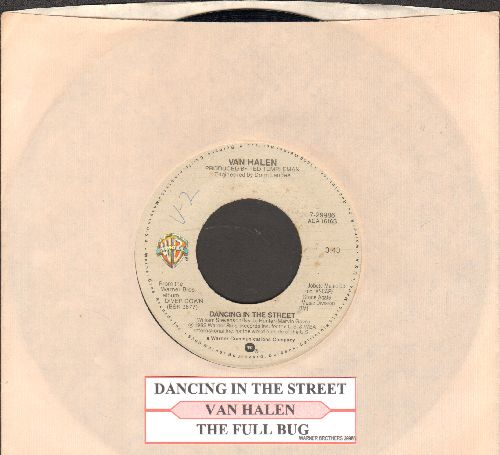Van Halen - Dancing In The Street/The Full Bug (with juke box label and company sleeve) - NM9/ - 45 rpm Records