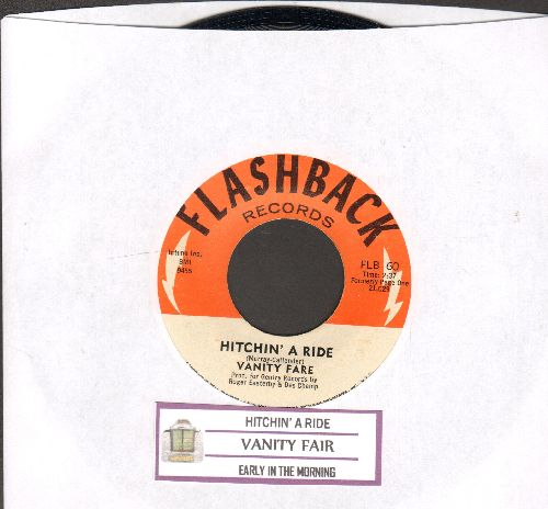 Vanity Fare - Hitchin' A Ride/Early In The Morning (double-hit re-issue with juke box label) - NM9/ - 45 rpm Records