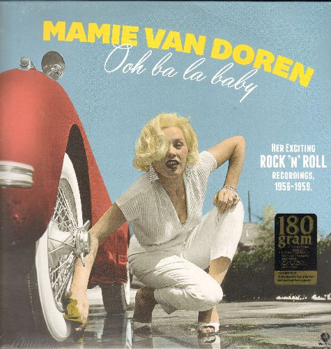 Van Doren, Mamie - Ooh La La Baby: The Girl Who Invented Rock'n'Roll, Go Go Calypso, The Boy Catchers Theme, Cabaret, The Beat Generation (180 gram virgin vinyl pressing, EU re-issue of vintage recordings, SEALED, never opened!) - SEALED/SEALED - LP Recor