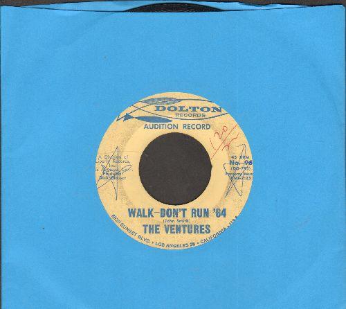 Ventures - Walk--Don't Run '64/The Cruel Sea (DJ advance pressing)(wol) - VG7/ - 45 rpm Records