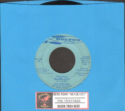 Ventures - Theme From Silver City/Bluer Than Blue (with juke box label) - EX8/ - 45 rpm Records