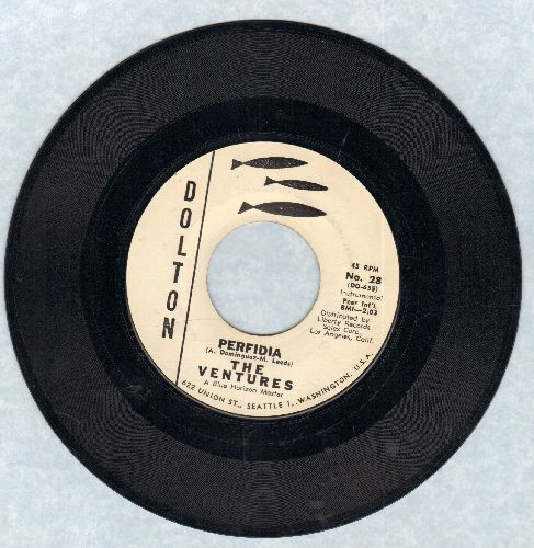 Ventures - Lolita Ya-Ya/Lucille (with juke box label and RARE vintage Dolron company sleeve) - NM9/ - 45 rpm Records