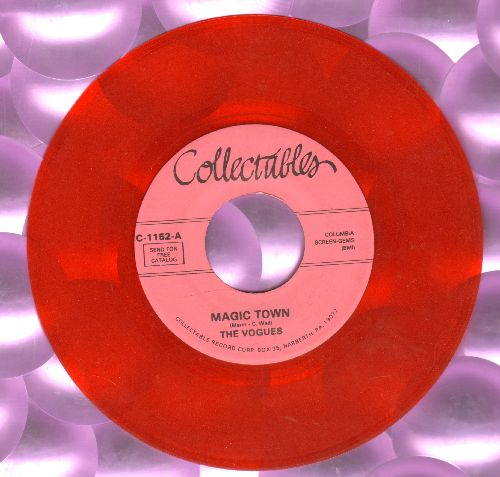 Vogues - Magic Town/Humpty Dumpty (red vinyl re-issue) - NM9/ - 45 rpm Records