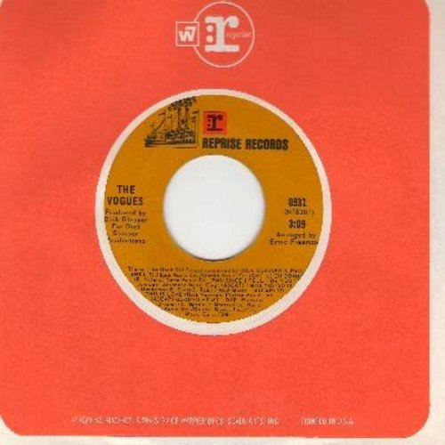 Vogues - Come Into My Arms/Theme (The Good Old Songs) (with Reprise company sleeve) - NM9/ - 45 rpm Records