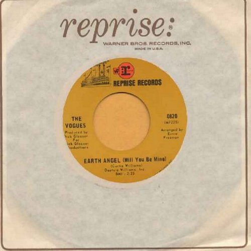 Vogues - Earth Angel (Will You Be Mine)/P.S. I Love You (with vintage Reprise company sleeve) - EX8/ - 45 rpm Records