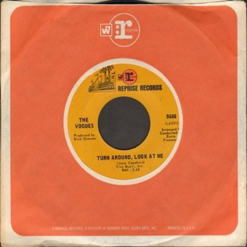 Vogues - Turn Around Look At Me/Then (with Reprise company sleeve) - EX8/ - 45 rpm Records