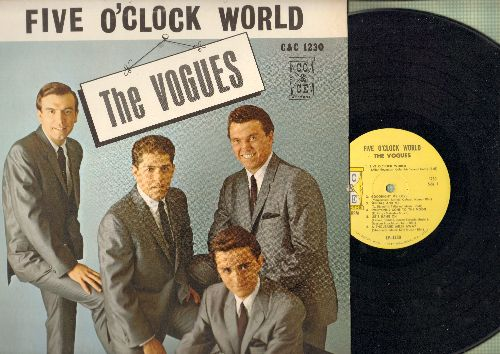Vogues - Five O'Clock World: Goodnight My Love, Let's Hang On, A Thousand Miles Away, One More Sunrise (Vinyl MONO LP record) - NM9/EX8 - LP Records