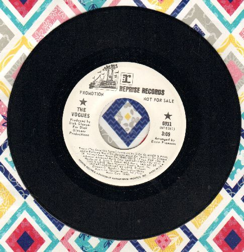 Vogues - Come Into My Arms/Theme (The Good Old Songs) (DJ avance pressing) - NM9/ - 45 rpm Records