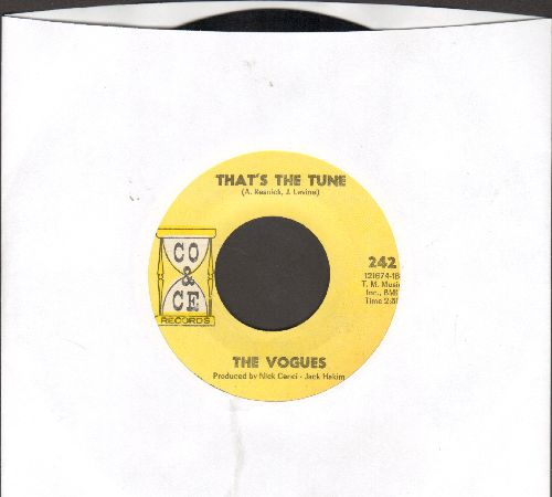 Vogues - That's The Tune/Midnight Dreams (MINT condition!) - M10/ - 45 rpm Records