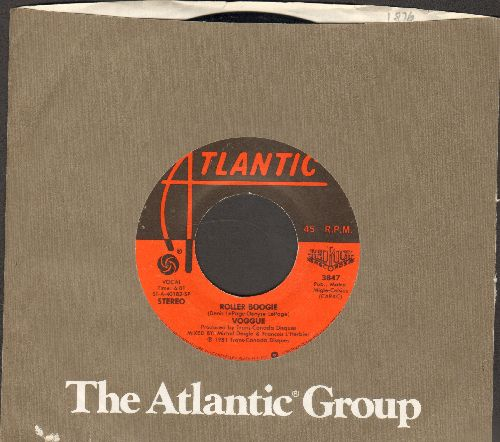 Voggue - Roller Boogie/Dancin' The Night Away (with Atlantic company sleeve) - EX8/ - 45 rpm Records