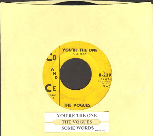 Vogues - Five O'Clock World (as featured on -The Drew Carey Show- in 2nd Season Theme)/Nothing To Offer You (with juke box label) - VG7/ - 45 rpm Records