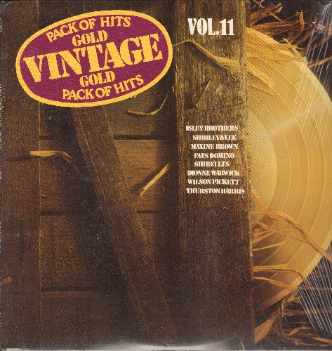 Isley Brothers, Fats Domino, Jimmy Charles, others - Vintage Gold Vol. 11: Twist And Shout, Baby It's You, Come Go With Me, A Million To One (Vinyl LP record, re-issue of vintage recordings, SEALED, never opened!) - SEALED /SEALED - LP Records
