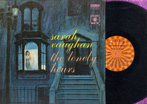Vaughan, Sarah - The Lonely Hours: If I Had You, Freindless, Always On My Mind, The Man I Love, You're Driving Me Crazy (Vinyl STEREO LP record) - NM9/EX8 - LP Records