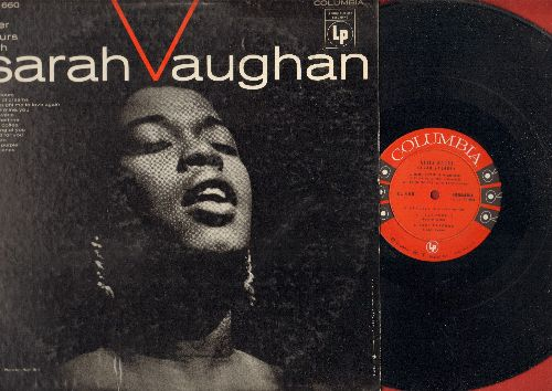 Vaughan, Sarah - After Hours: Black Coffee, Summertime, Street Of Dreams, My Reverie, Perido, Deep Purple (Vinyl MONO LP record, 1955 first pressing) - NM9/VG7 - 45 rpm Records