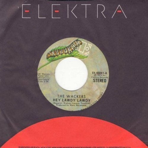 Wackers - Hey Lawdy Lawdy/I'm In Love - EX8/ - 45 rpm Records
