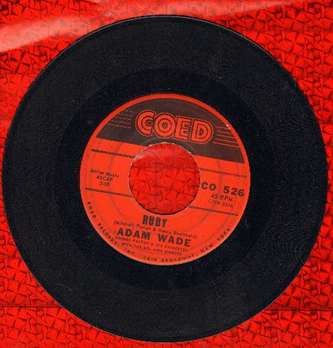 Wade, Adam - Ruby/Too Far - EX8/ - 45 rpm Records