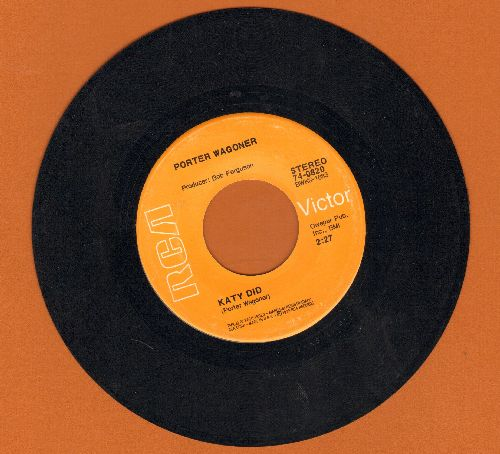 Wagoner, Porter - Katy Did/Darlin' Debra Jean - EX8/ - 45 rpm Records