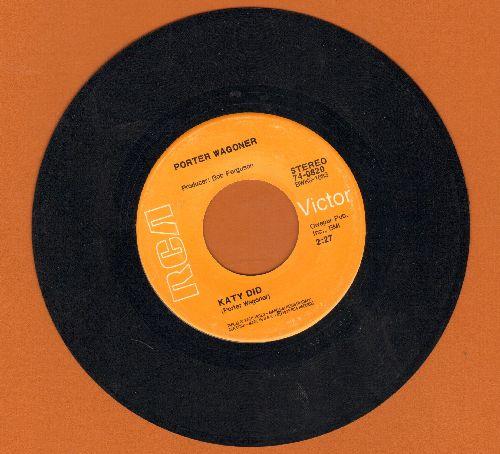 Wagoner, Porter - Katy Did/Darlin' Debra Jean - EX8/ - 45 rpm Records