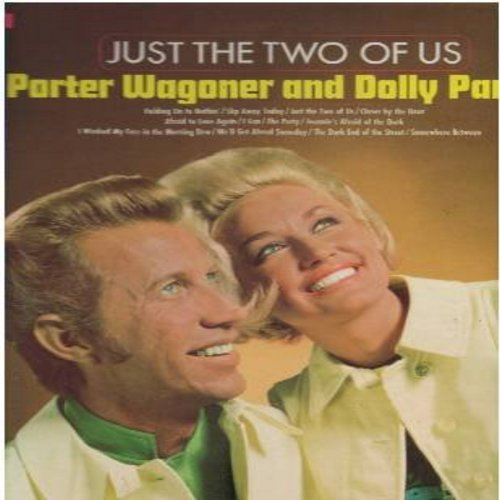 Wagoner, Porter & Dolly Parton - Just The Two Of Us: Holding On To Nothing, Slip Away Today, The Party, The Dark End Of The Street (Vinyl STEREO LP record) - EX8/M10 - LP Records
