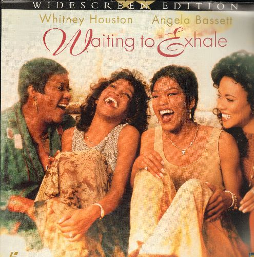 Waiting To Exhale - Waitint To Exhale - The 1995 Comedy-Drama starring Whitney Houston and Angele Bassett on 2 LASER DISCS, Widescreen Edition!) - NM9/EX8 - Laser Discs