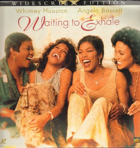 Houston, Whitney, Angela Bassett - Waiting To Exhale - LASERDISC version of the Classic Romance Drama starring Whitney Houston. 2 LASERDISCs, Widescreen Edition!) - NM9/NM9 - LaserDiscs