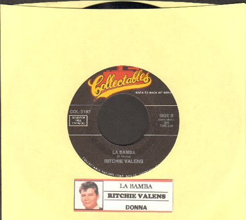 Valens, Ritchie - La Bamba/Donna (re-issue with juke box label) - NM9/ - 45 rpm Records