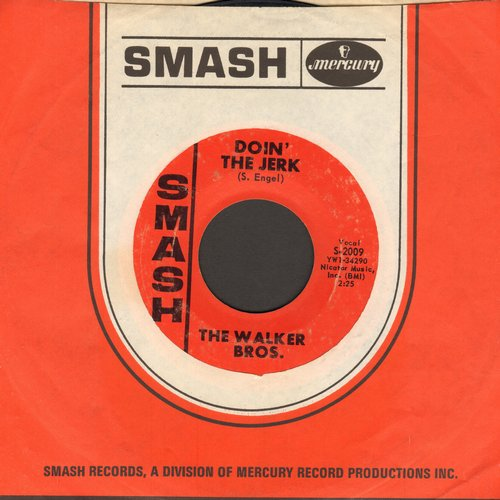 Walker Brothers - Doin' The Jerk/Pretty Girls Everywhere (with Smash company sleeve) - NM9/ - 45 rpm Records