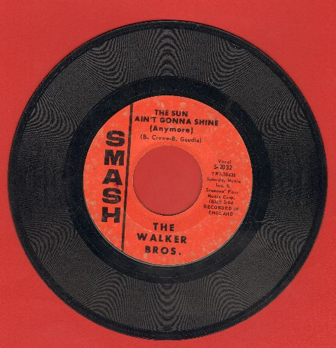 Walker Brothers - The Sun Ain't Gonna Shine (Anymore)/After The Lights Go Out (bb) - VG7/ - 45 rpm Records