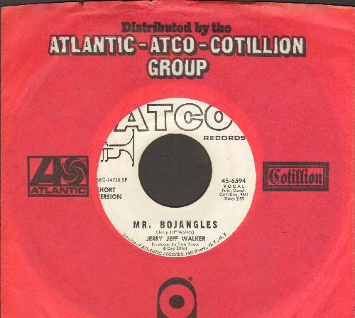 Walker, Jerry Jeff - Mr. Bojangles (DJ advance copy with Complete Version and Short Version of hit, with Atco company sleeve) - NM9/ - 45 rpm Records